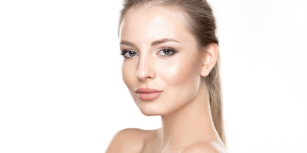 Woman with great skin after Evoke RF treatments